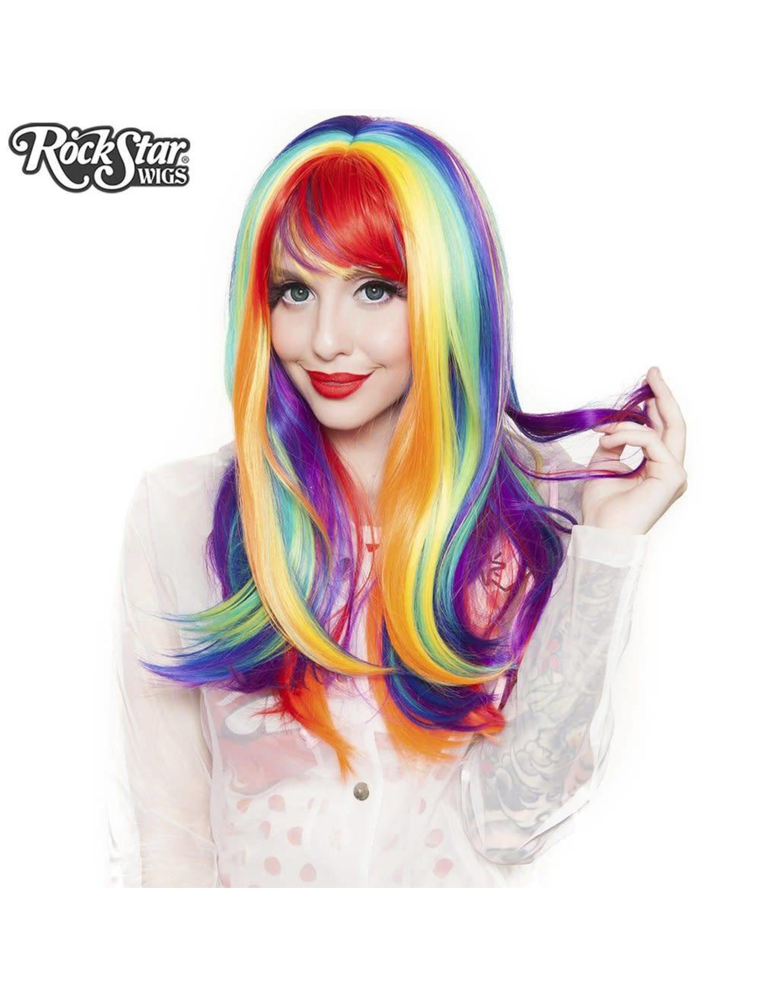 Rockstar Wigs Rainbow Rock Prism 3 Wig