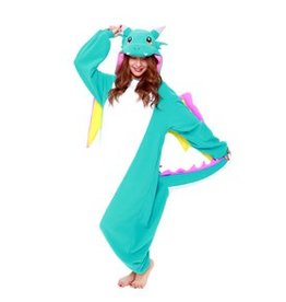 Sazac Kigurumi Blue Dragon