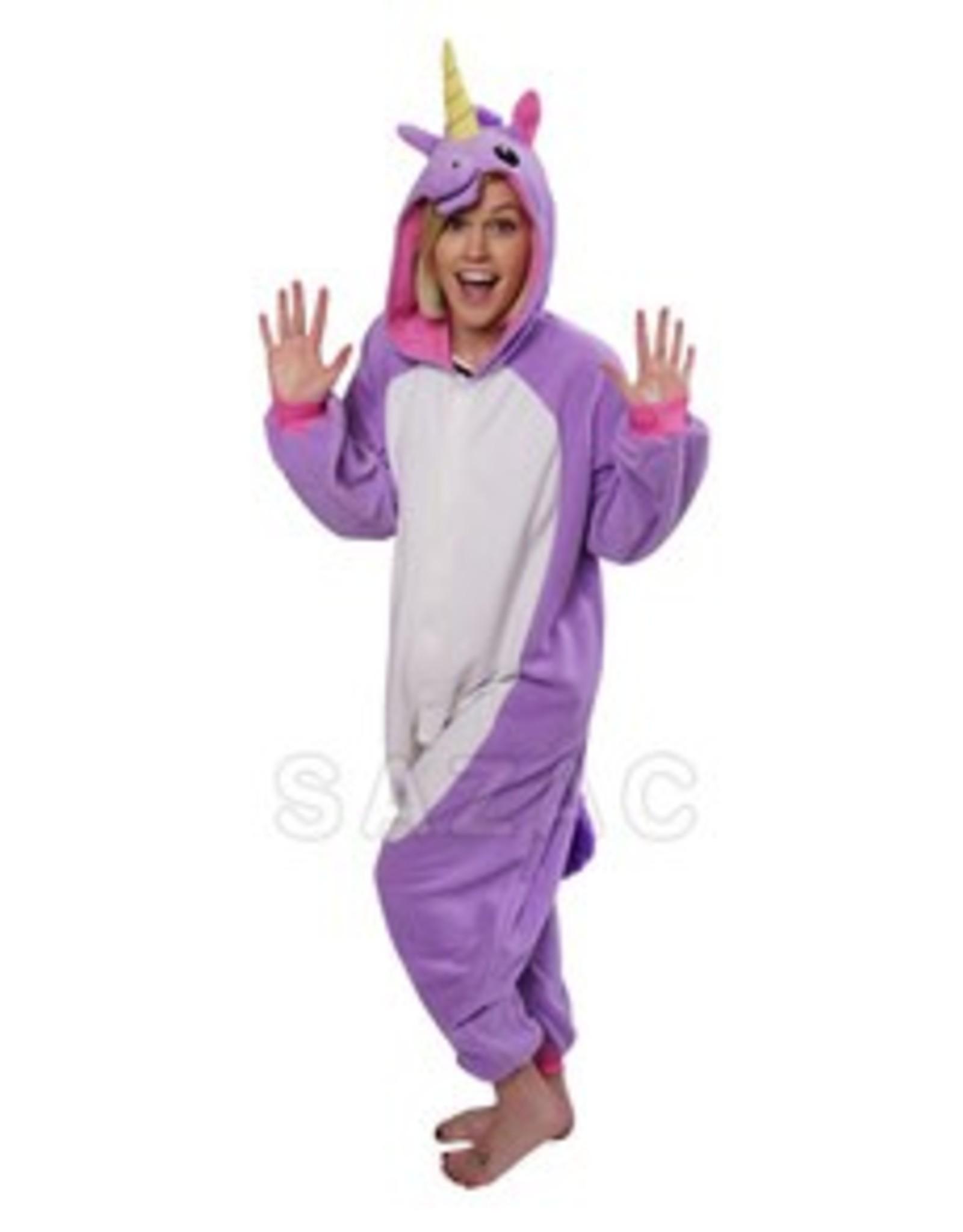 Sazac Kigurumi Purple Unicorn
