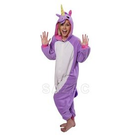Sazac Kigurumi Purple Unicorn