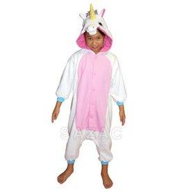 Sazac Kigurumi Kids Unicorn Wht/Blue