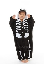 Sazac Kigurumi Kids Skeleton