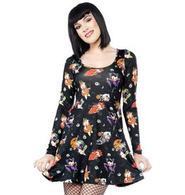 Sourpuss Halloween Everyday Dress