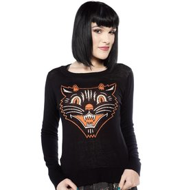 Sourpuss Lucy Fur Sweater