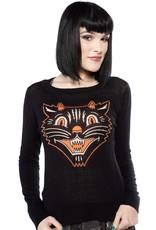 Sourpuss Lucy Fur Sweater