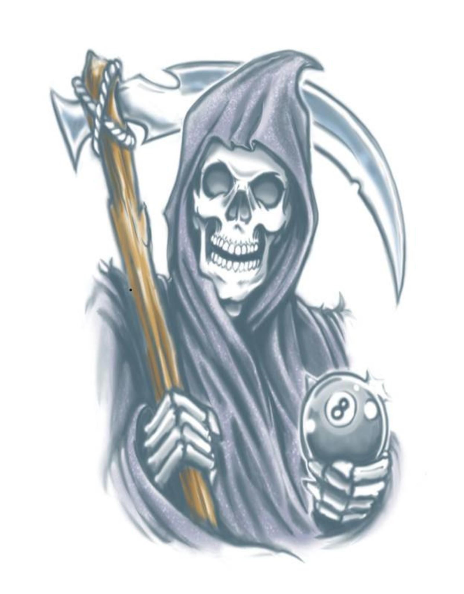 Tinsley Transfers Reaper Tattoo