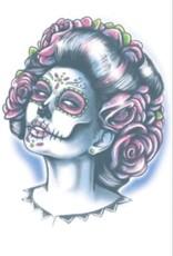 Tinsley Transfers Senora Muerte Tattoo