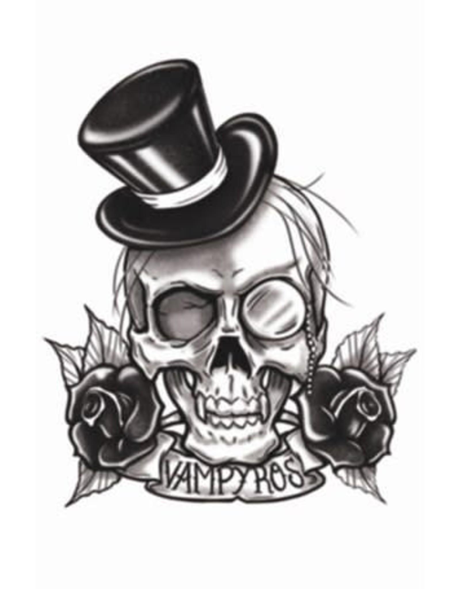 Tinsley Transfers Goth Vampyros Tattoo