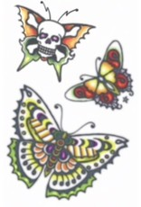 Tinsley Transfers 1960's Butterflies Tattoo