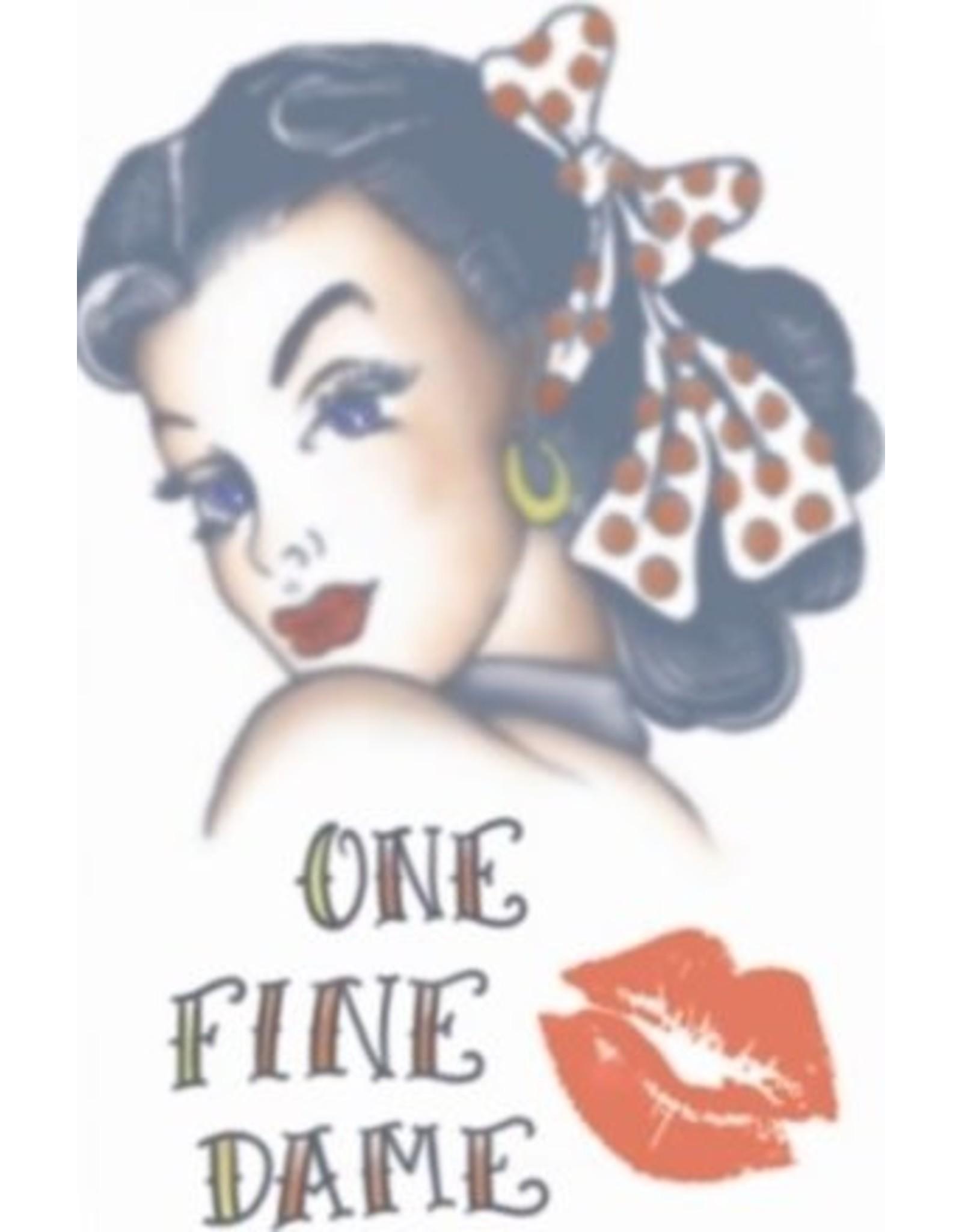 Tinsley Transfers 1940 Hottie Girl Tattoo