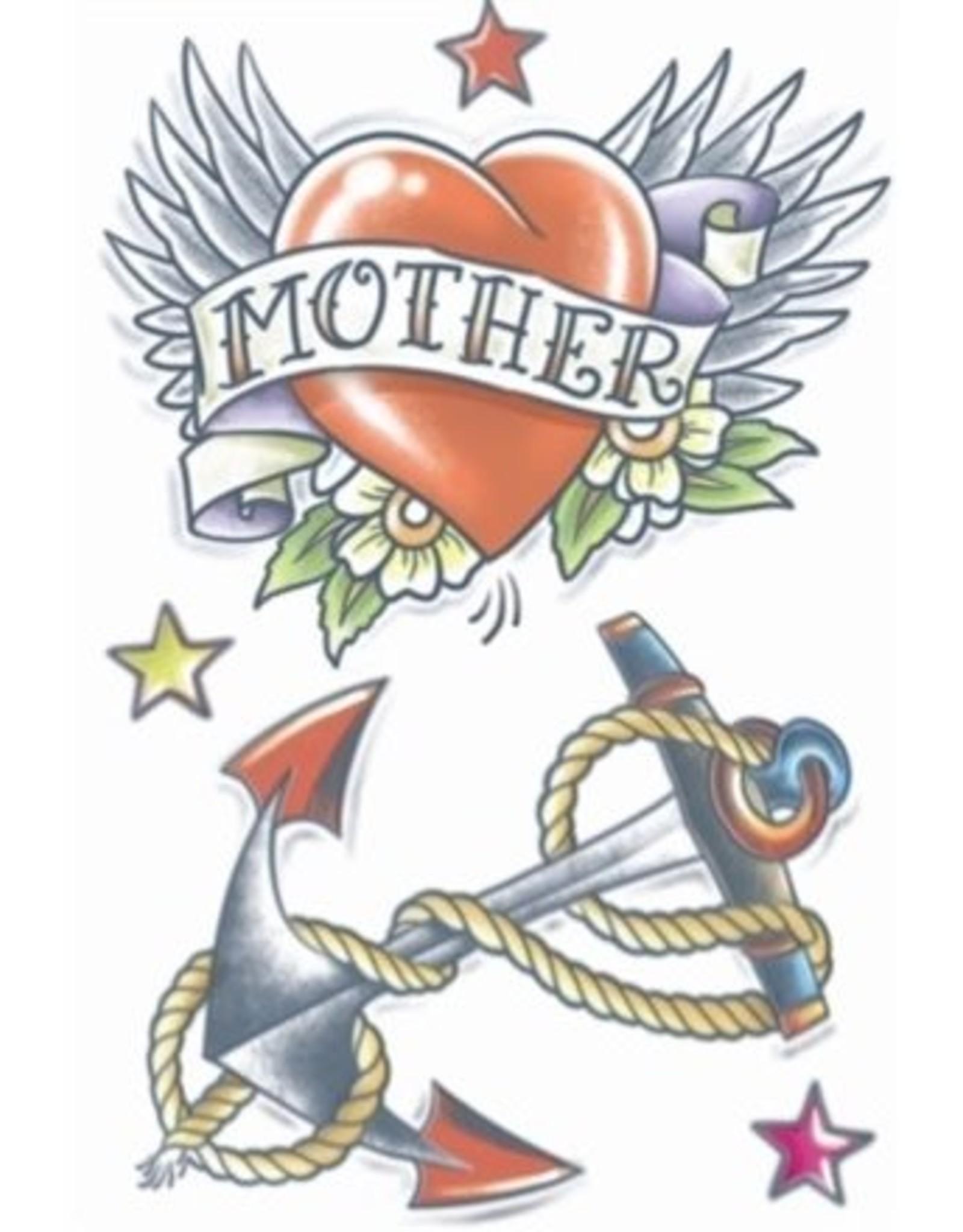 Tinsley Transfers 1950 Heart/Anchor Tattoo