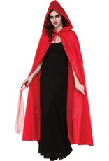 Rubies Red Hooded Cape