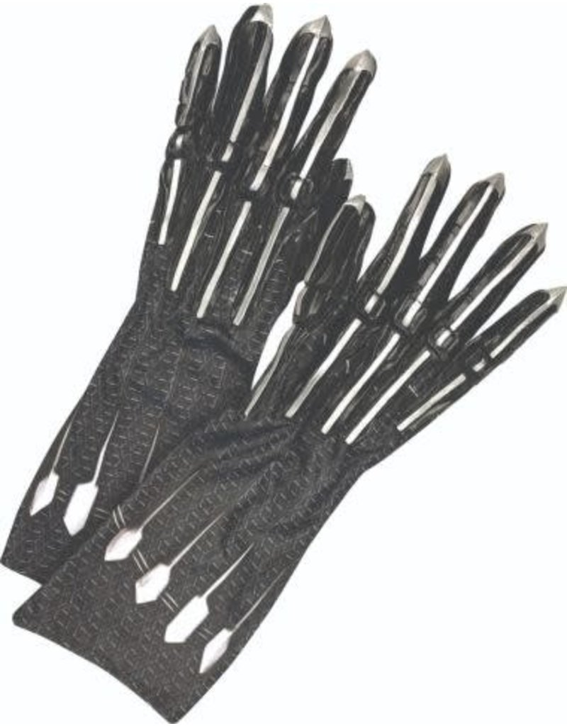 Rubies Black Panther Adult Gloves
