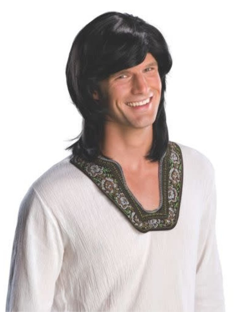 Rubies 70's Guy Wig Black