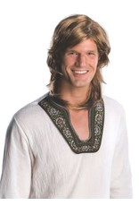 Rubies 70's Guy Wig Brown