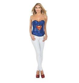 Rubies Supergirl Sequin Corset M