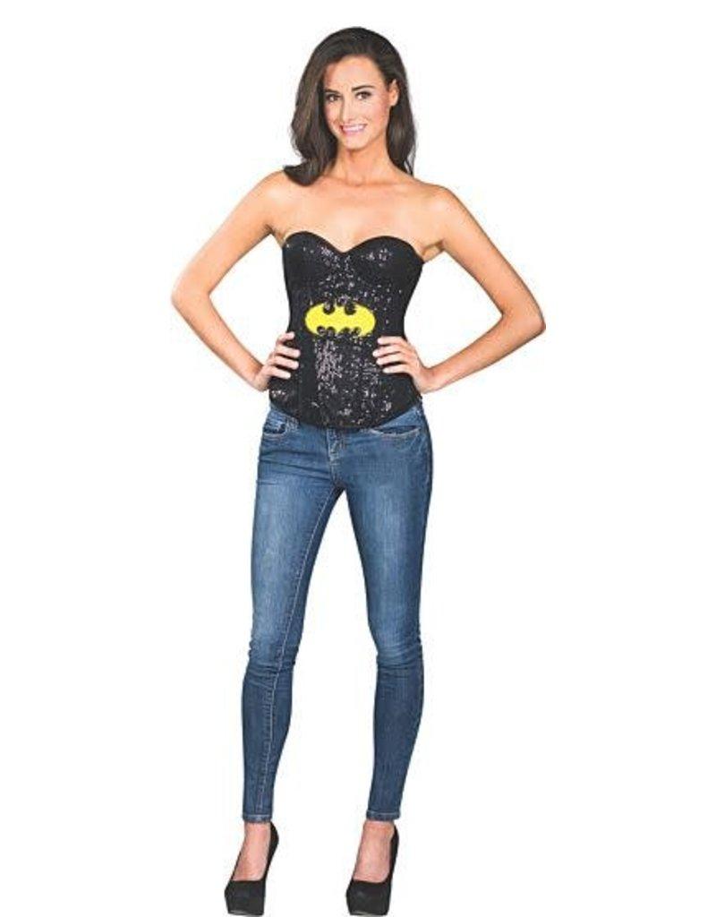 Rubies Batgirl Sequin Corset