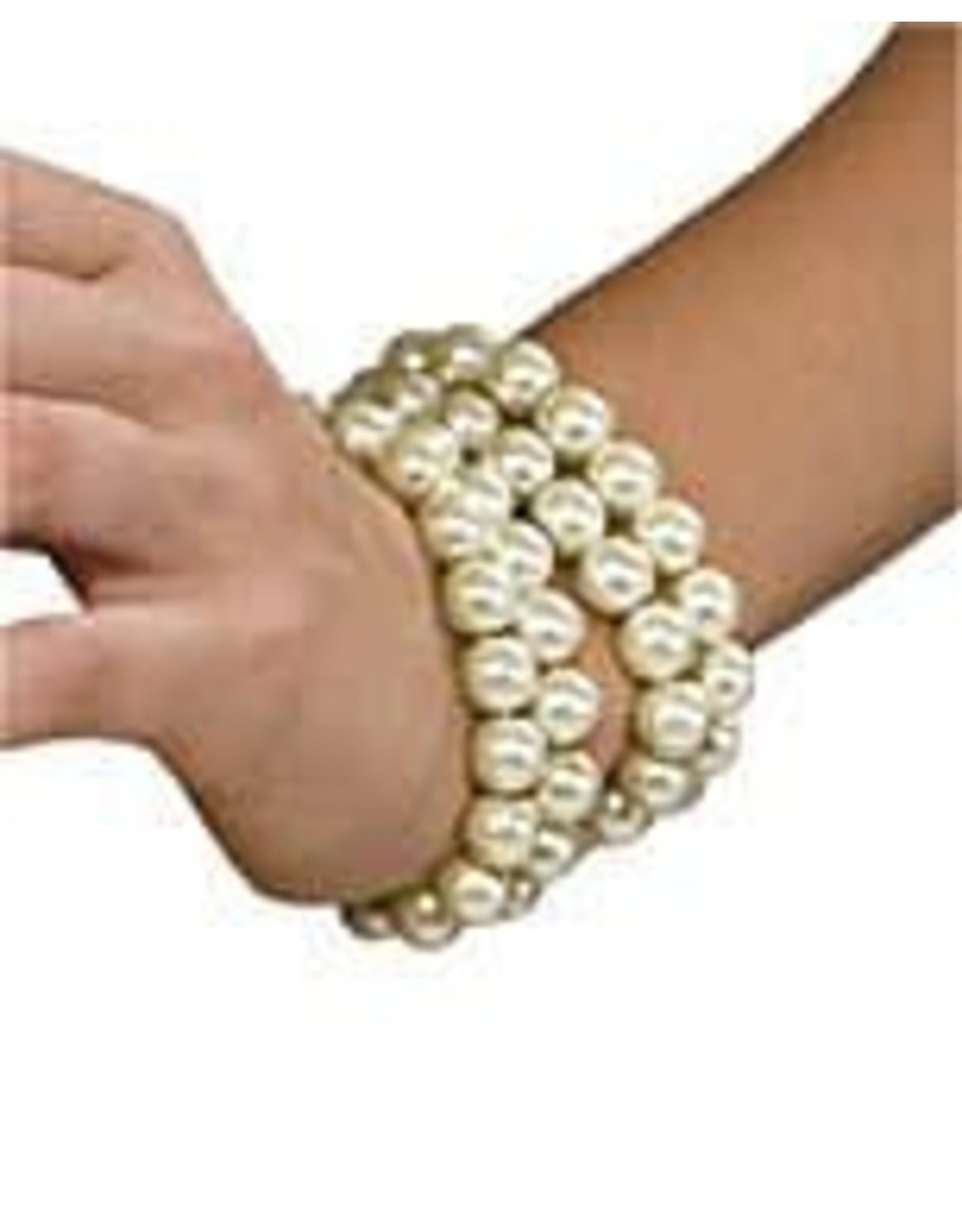 Rubies Multi Pearl Bracelet