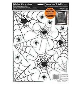 Amscan Spiderweb Window Decals