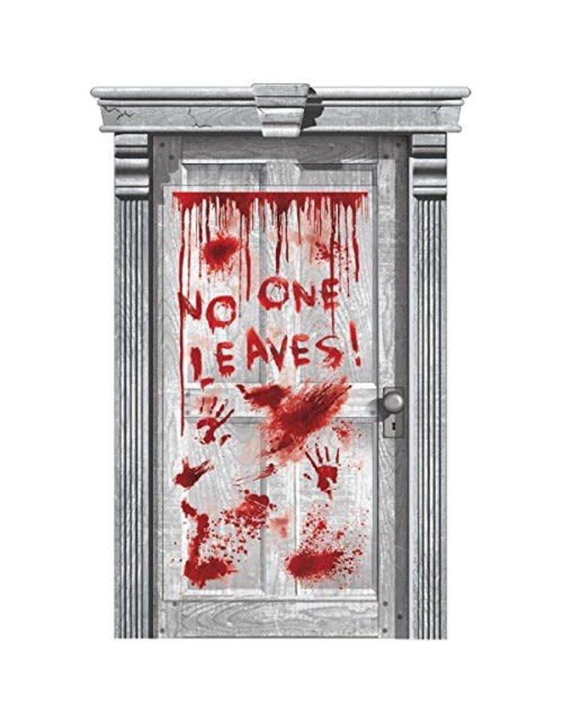 Amscan Asylum Bloody Door