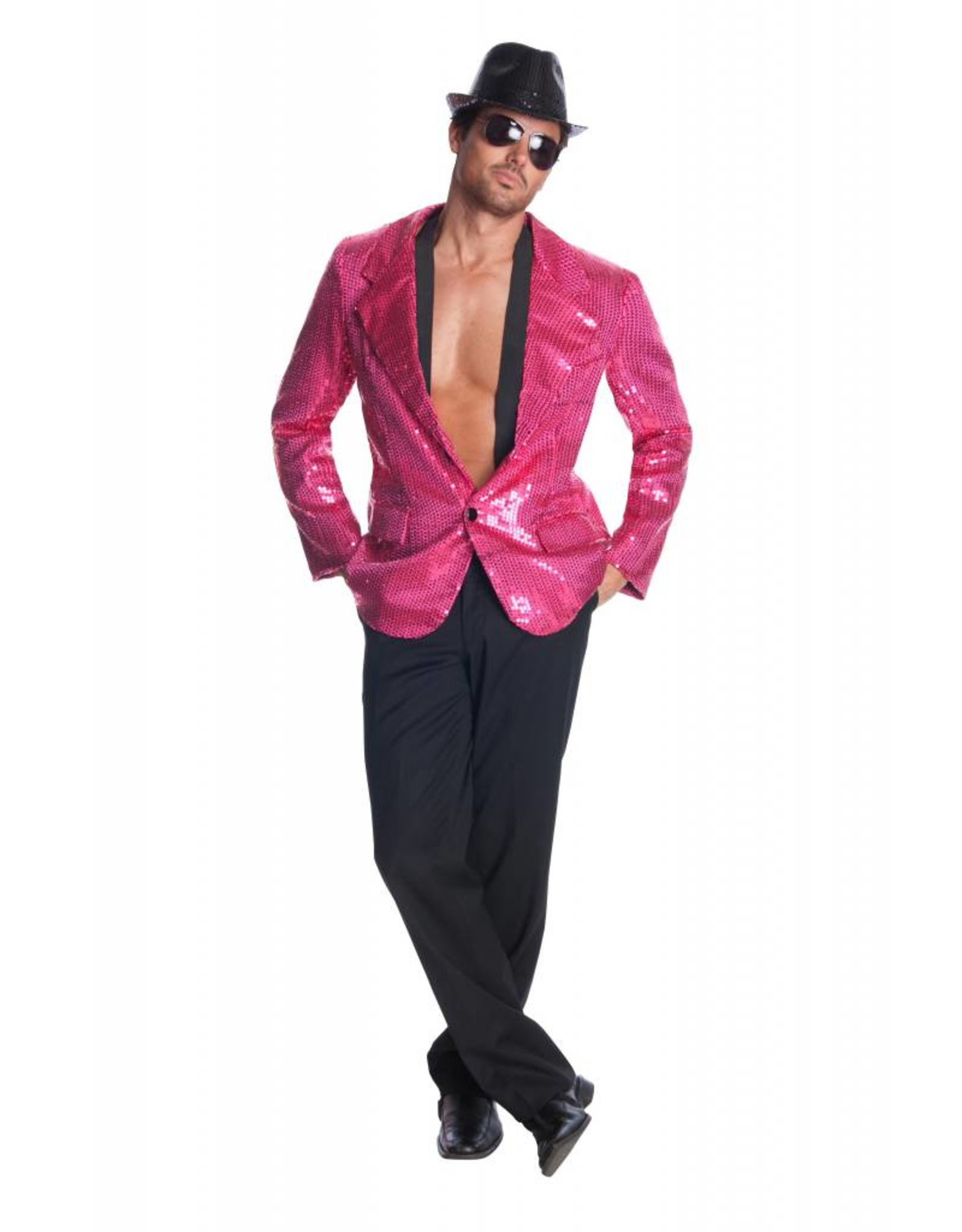 Rubies Sequin Jacket Pink