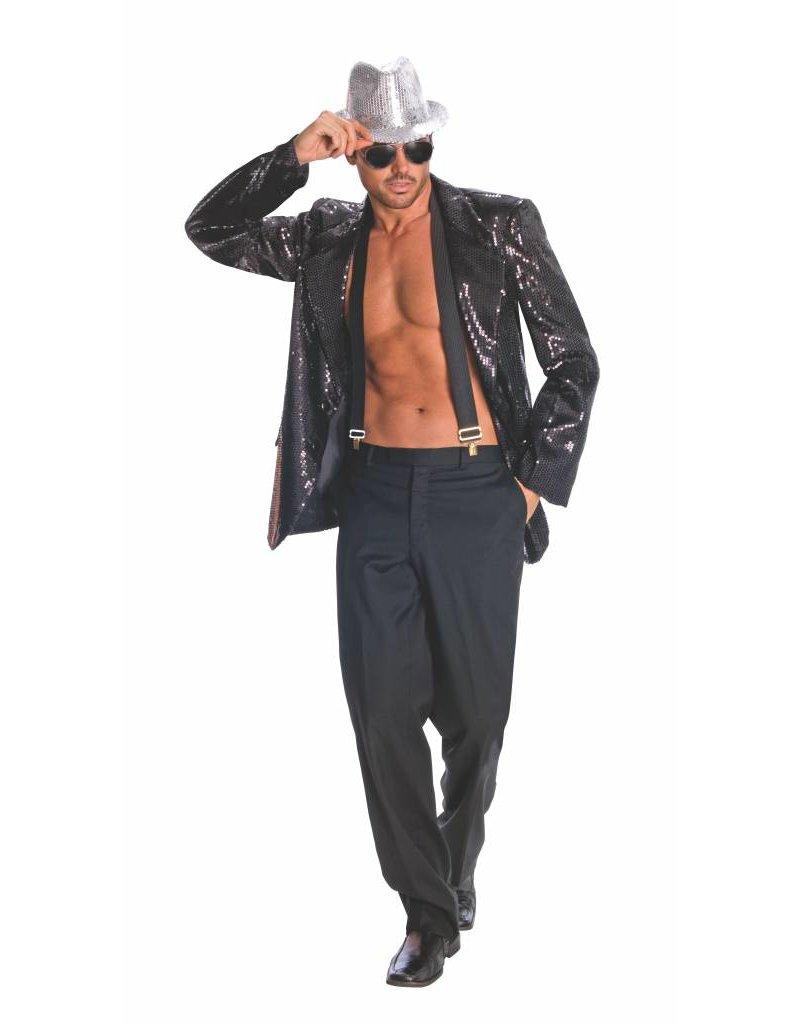 Rubies Sequin Jacket Black