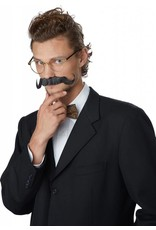 California Costume Handlebar Moustache Black