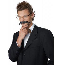 California Costume Handlebar Moustache Black