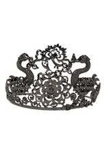 Elope Black Jeweled Tiara