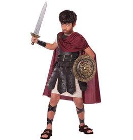 California Costume Spartan Warrior Child