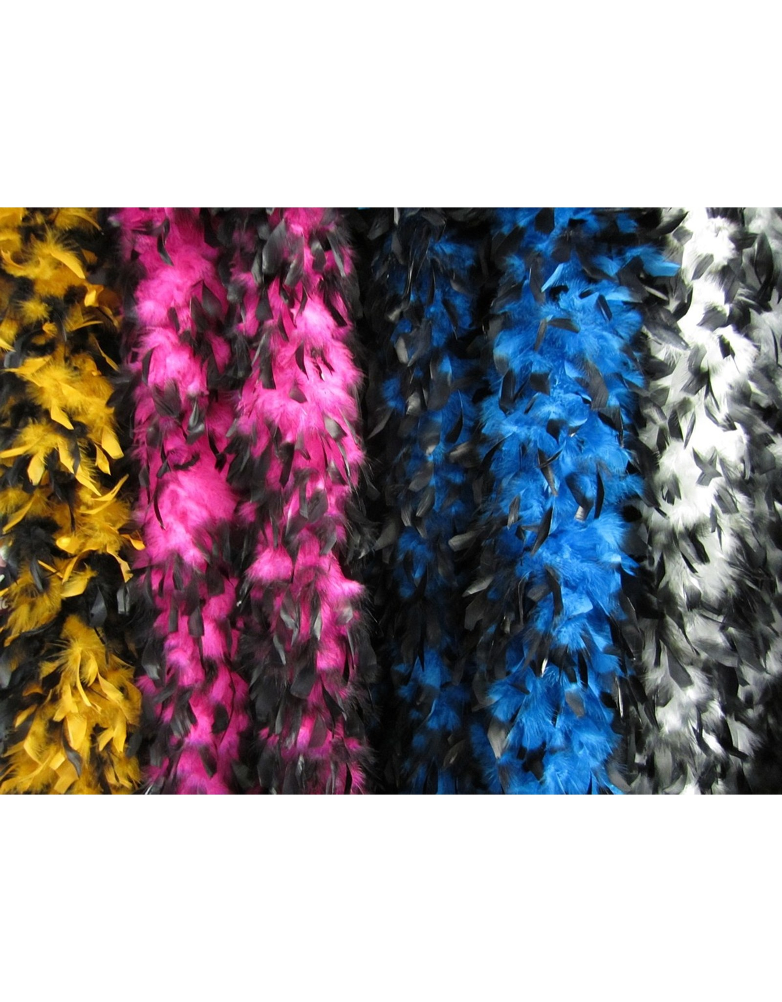 S.A. Feather Co Boa Turquoise & Black
