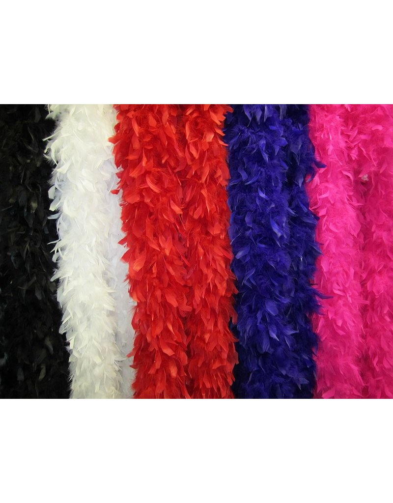 S.A. Feather Co Boa Red
