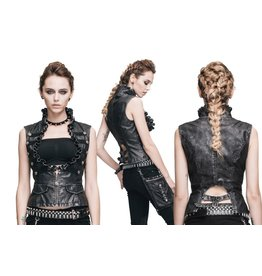 Western Fashion Punk Underbust Vest