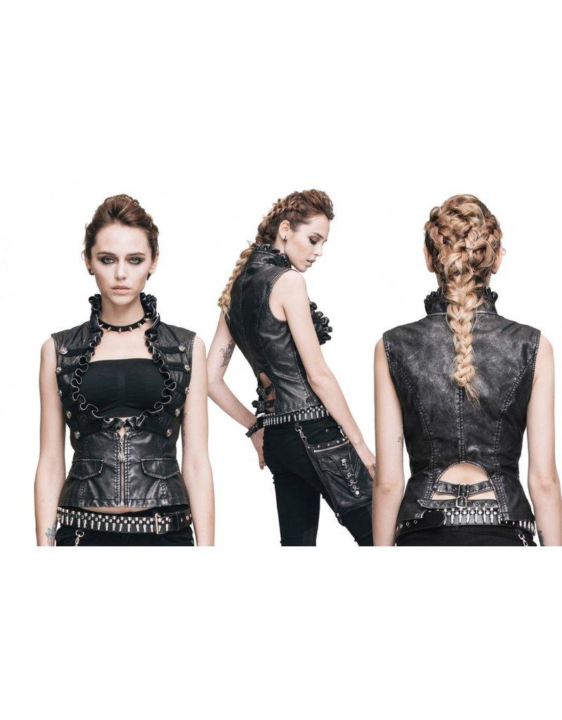 Western Fashion Punk Underbust Vest