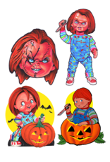 Trick or Treat Studios Child's Play Retro Wall Decor