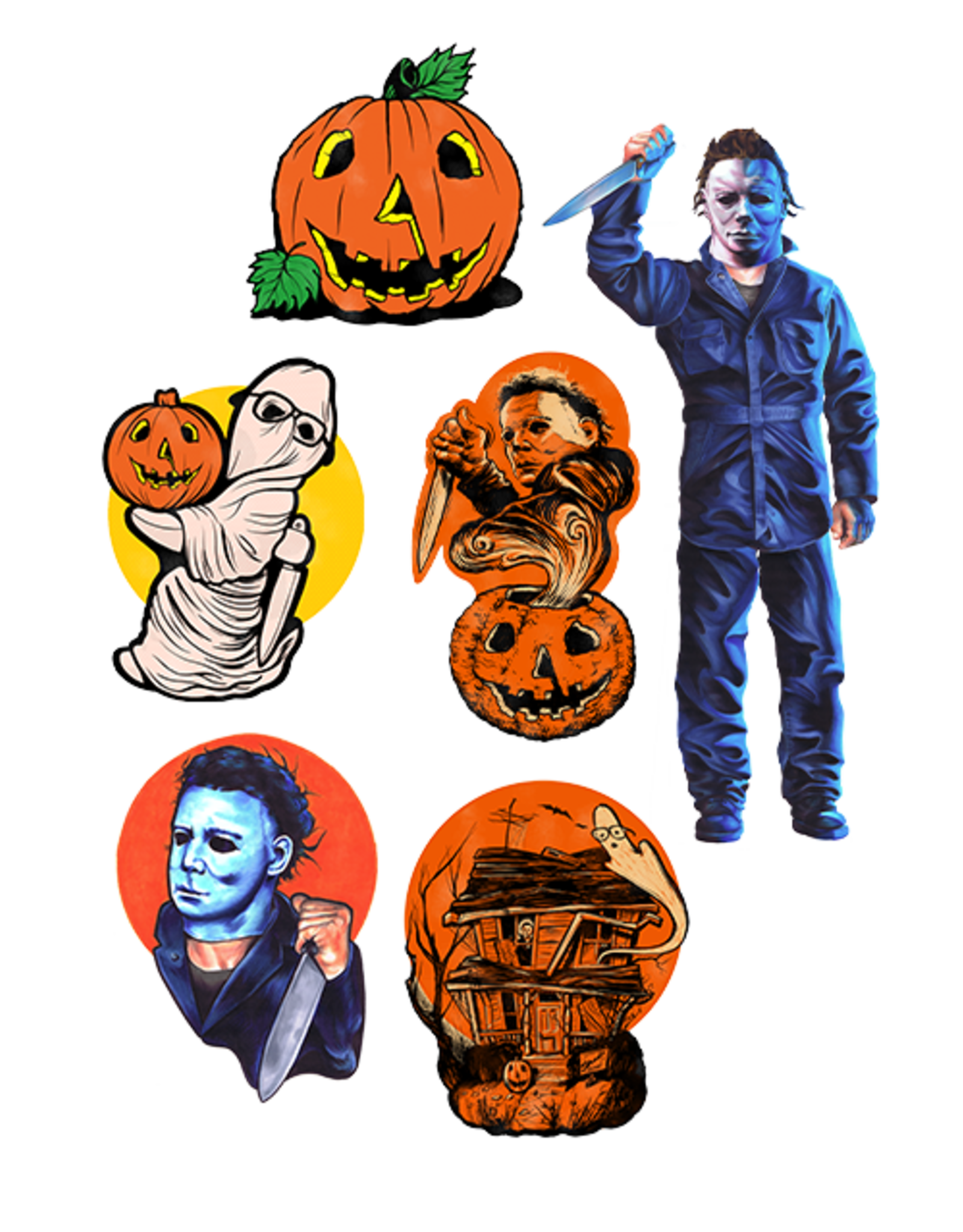 Trick or Treat Studios Halloween Retro Wall Decor