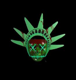 Trick or Treat Studios Purge Lady Liberty Mask