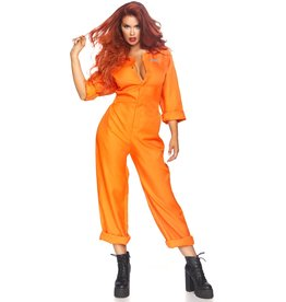 Leg Avenue Prison Jumpsuit Womens