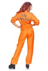 Leg Avenue Prison Jumpsuit Womens