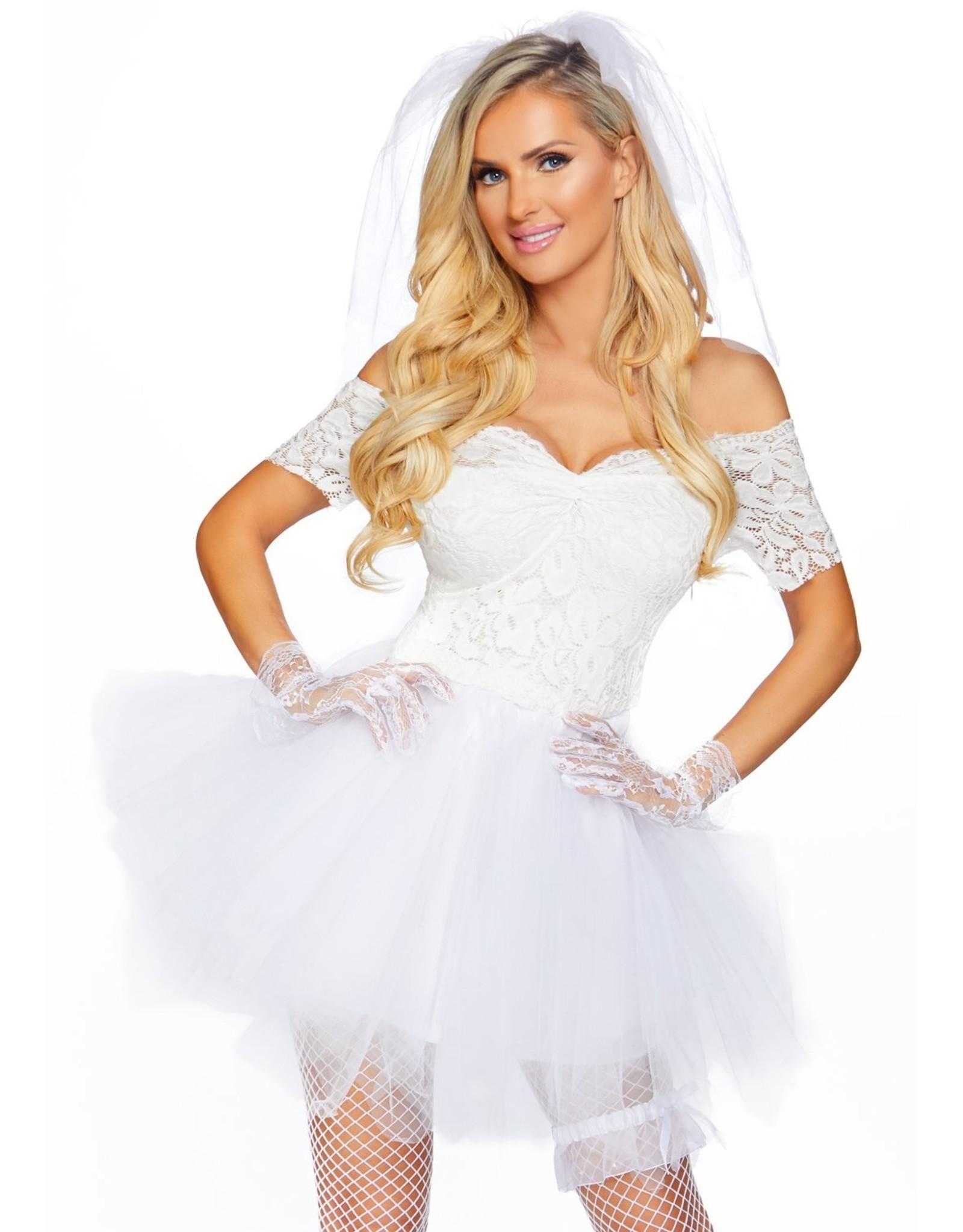 Leg Avenue Blushing Bride