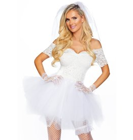 Leg Avenue Blushing Bride