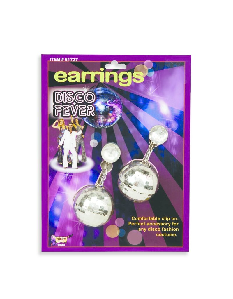 Forum Disco Ball Earrings