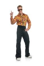 Charades Rainbow Lights Disco Shirt