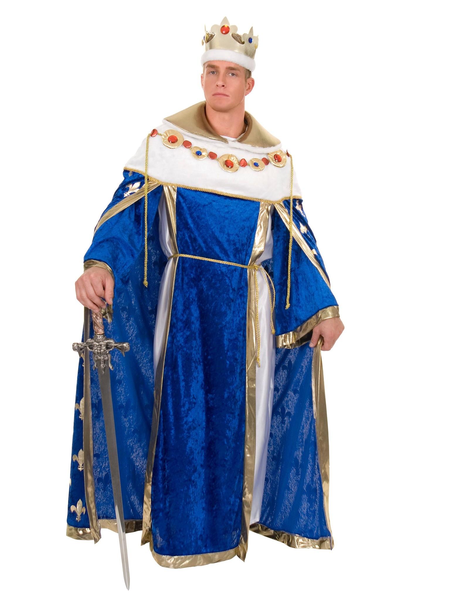 Charades Kings Robe Blue
