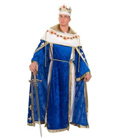 Charades Kings Robe Blue