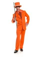 Charades Funny Tuxedo Orange