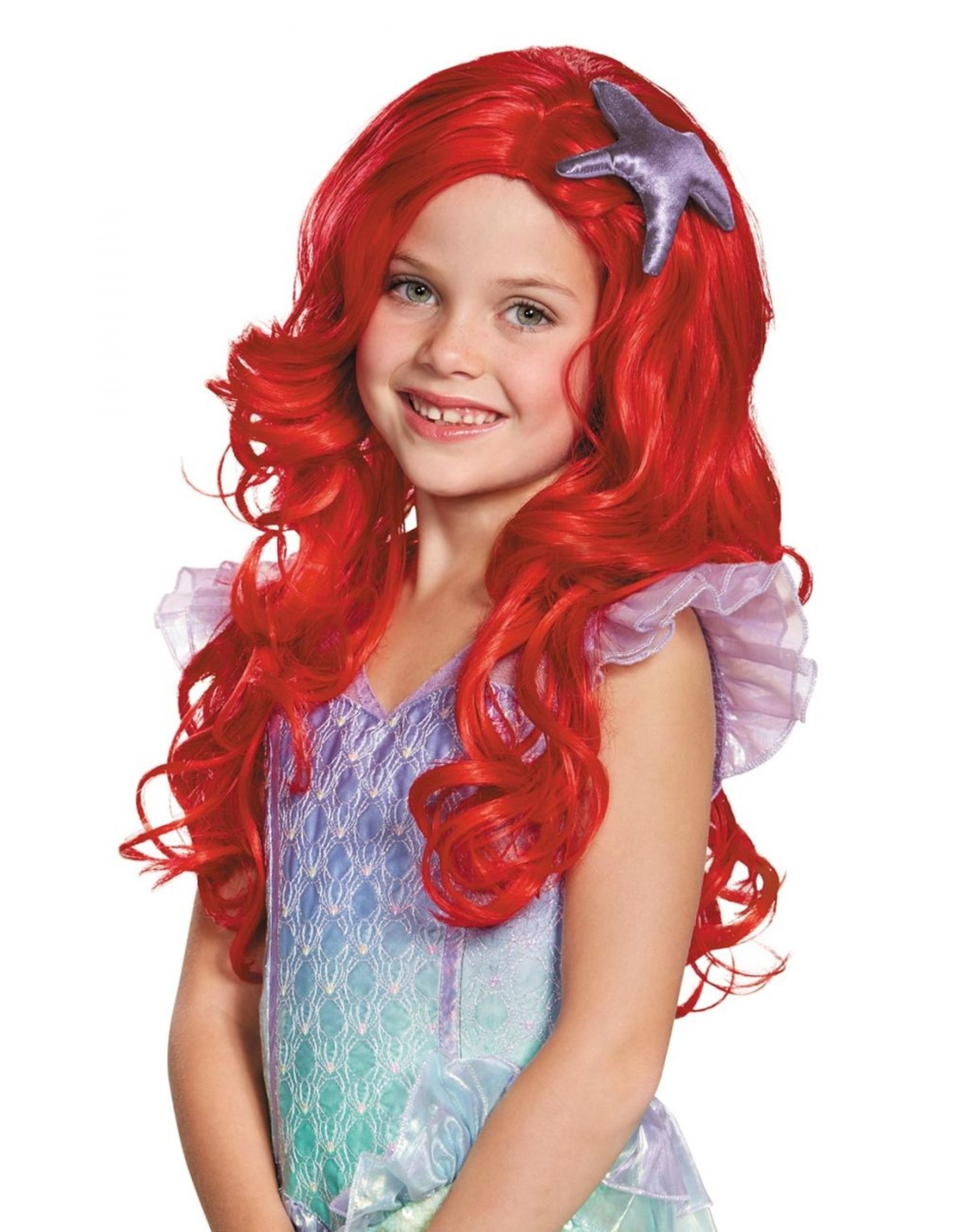 Disguise Ariel Deluxe Child Wig