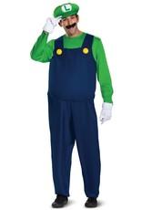 Disguise Luigi Adult Deluxe