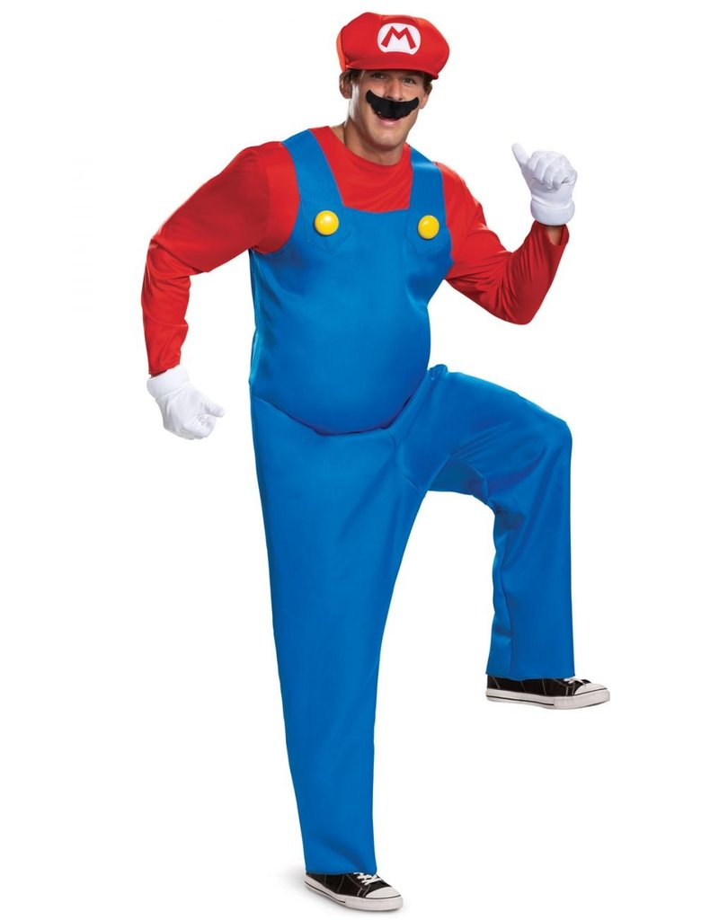 Disguise Mario Adult Deluxe