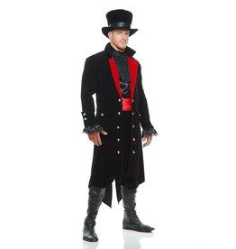 Charades Midnight Vampire Coat